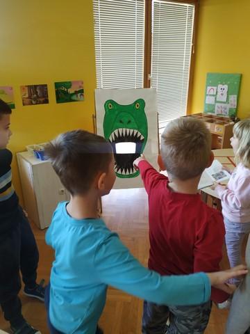 Dinosauri ušli u vrtić