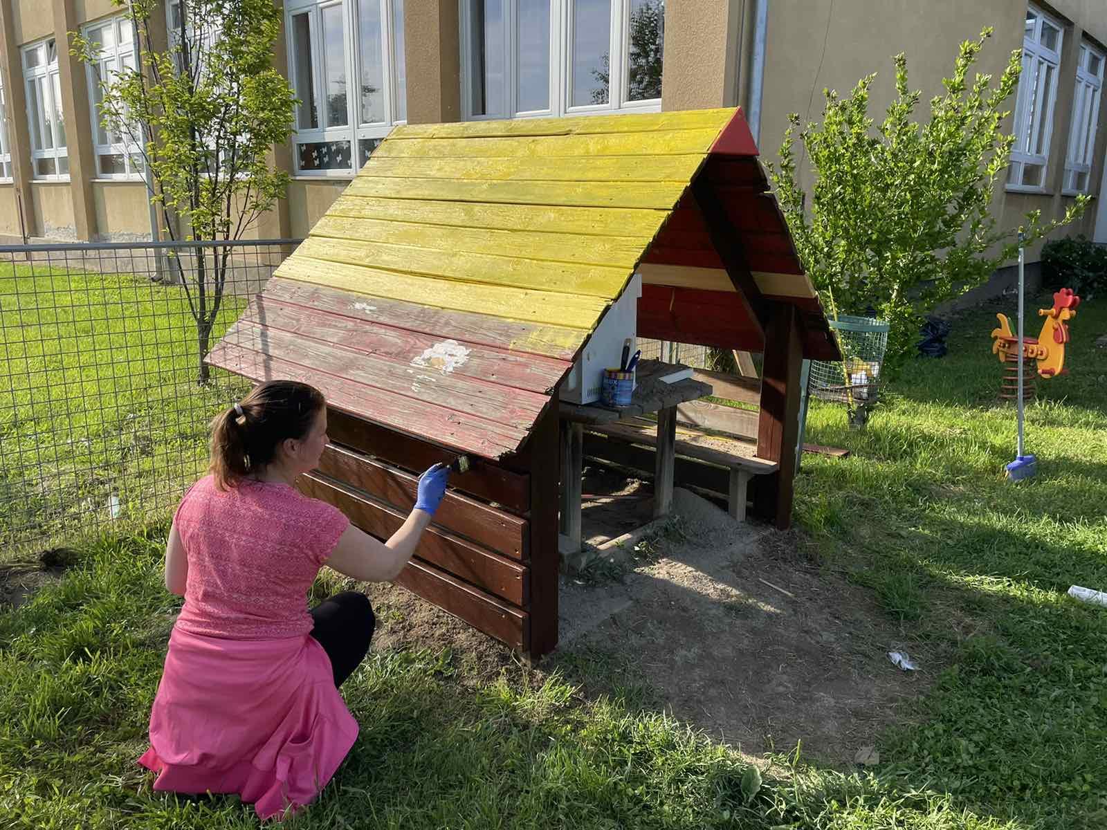Uređenje vrtićkog dvorišta